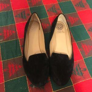 Vince Camuto Shoes - Vince Camuto Lilliana Blk Suede Ballet Flats sz 10